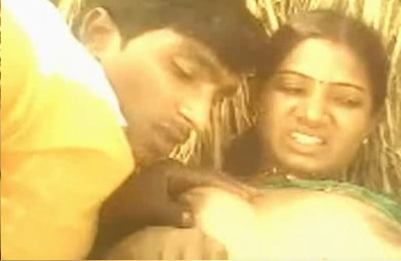 Desi Bhabhi and Devar Enjoying Outdoor