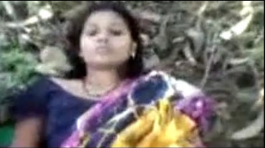 Horny Indian Wife Fucking In Jungle With Ex Mms
