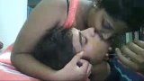 Marathi Girl Nandini Fun on Cam Kissing & Blowjob