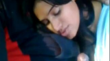 Drunk Girlfriend Nandini Sucking Cock inside Car