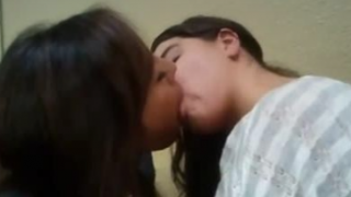 Sweet Indian Lesbians Kissing Passionate Mms