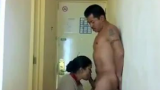 Customer Gets Blowjob From Room Service