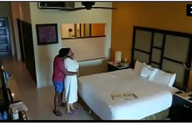 Hidden Cam Caught Honeymoon Couple Fucking